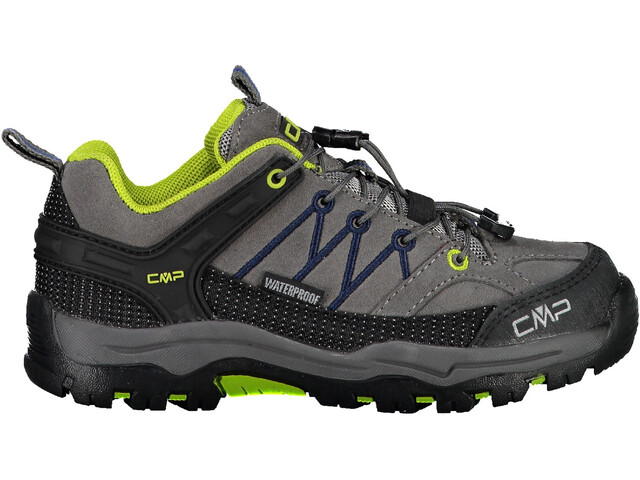 CMP Campagnolo Rigel WP Low-Cut Trekkingschuhe Kinder graffite/marine